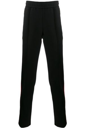VERSACE Contrast piped track pants