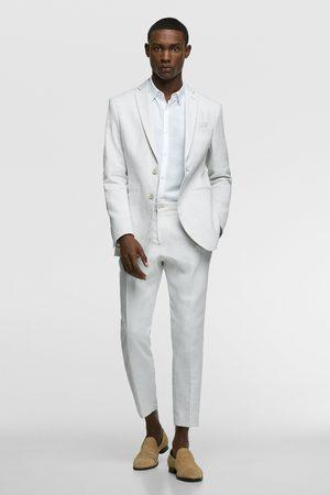 Zara Rustic suit trousers