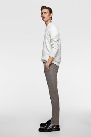 Zara Faded chino trousers