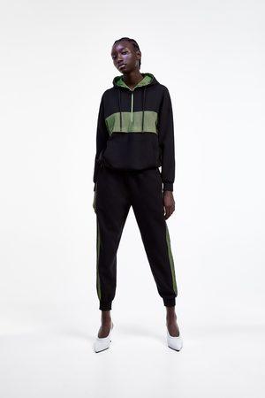 Zara Sweatshirt with contrast mesh