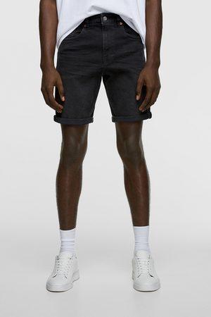 Zara Men Bermudas - Basic bermuda shorts