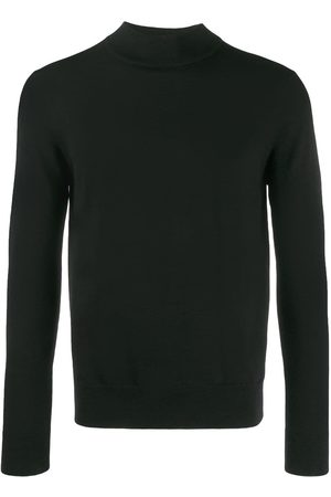 Sandro Ribbed collar jumper