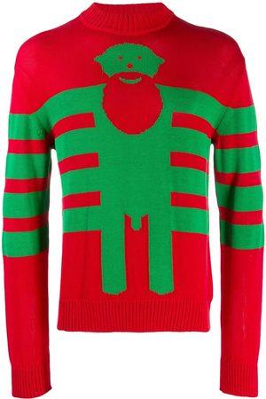 WALTER VAN BEIRENDONCK Sexclown knitted intarsia jumper