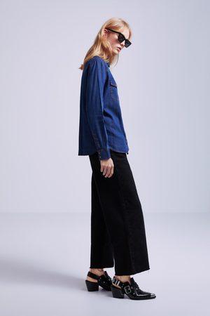 Zara Denim shirt with pockets