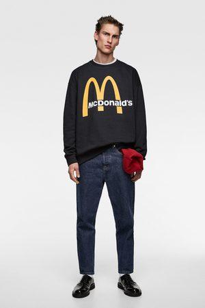 Zara © 2018 mcdonald's unisex sweatshirt