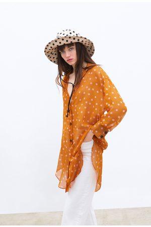 Zara Polka dot print shirt