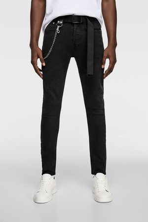 Zara Jeans with chain belt