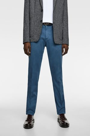 Zara Men Chinos - Belted chinos