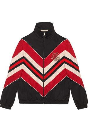Gucci Oversize jacket with lyre patch