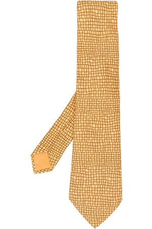 Hermès 2000's mosaic patterned tie