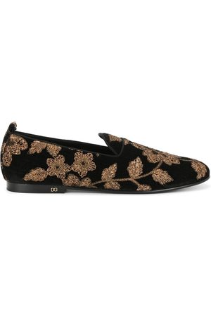 Dolce & Gabbana Floral slippers