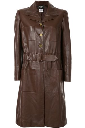 CHANEL Long sleeve belted coat