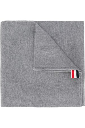 Thom Browne Men Scarves - Milano Stitch Merino Scarf