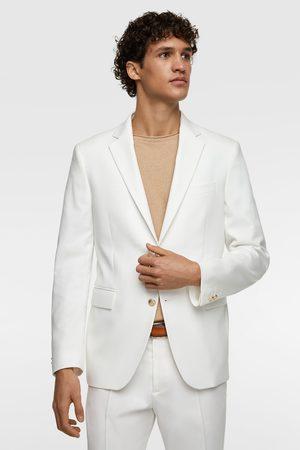 Zara Textured suit blazer
