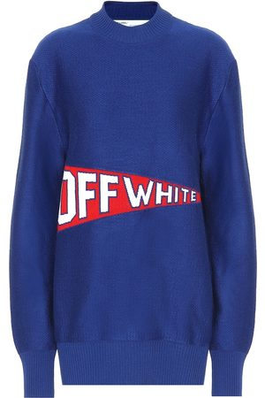 OFF-WHITE Women Jumpers - Stretch wool blend sweater