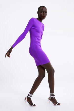 Zara Women Knitted Dresses - Cut-out knit dress