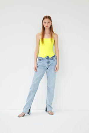 Zara Neon bodysuit