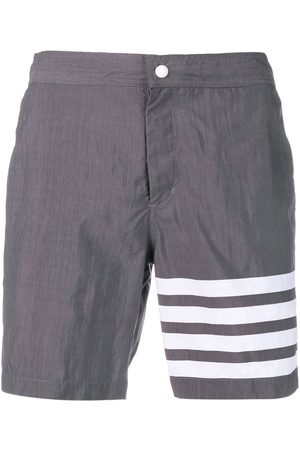 Thom Browne 4-bar Solid Tech Swim Short