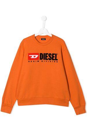 Diesel Boys Sweatshirts - Logo print sweatshirt