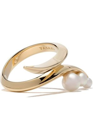 Tasaki 18kt Nacreous Akoya pearl ring