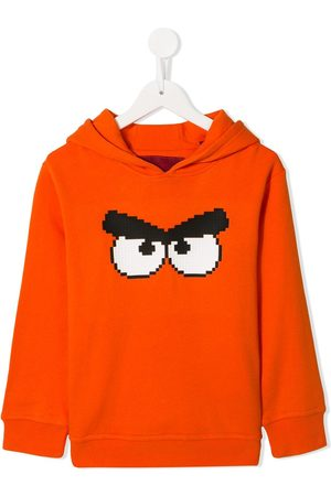 MOSTLY HEARD RARELY SEEN Angry Bird print hoodie