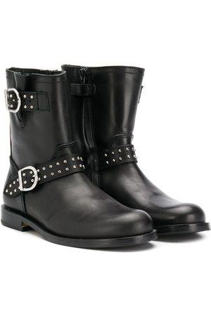 GALLUCCI Buckle strap boots