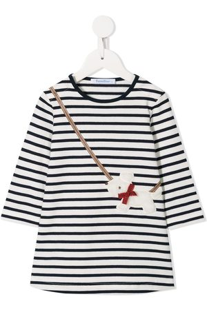 Familiar Striped crossbody dog dress