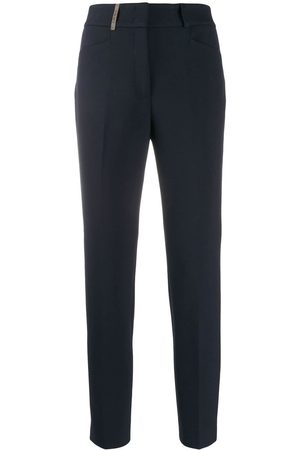 Peserico Women Formal Pants - Tailored cropped trousers