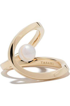 Tasaki 18kt Aurora Akoya pearl ring