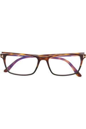 Tom Ford TF5584B tortoiseshell glasses