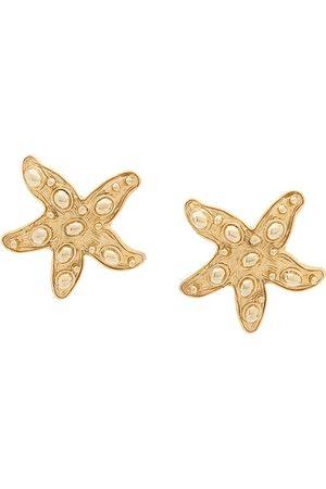 VERSACE Women Earrings - Starfish clip-on earrings