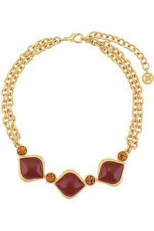 Givenchy Pre-Owned Double chain embellished necklace