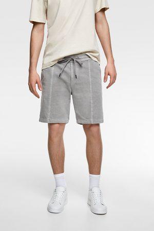 Zara Men Bermudas - Faded bermuda shorts