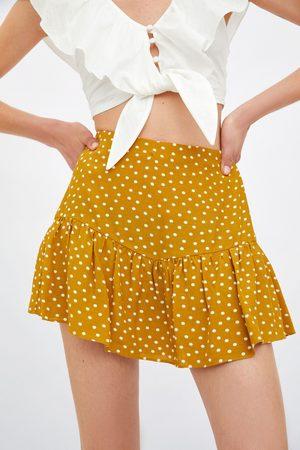 Zara Women Skorts - Printed skort