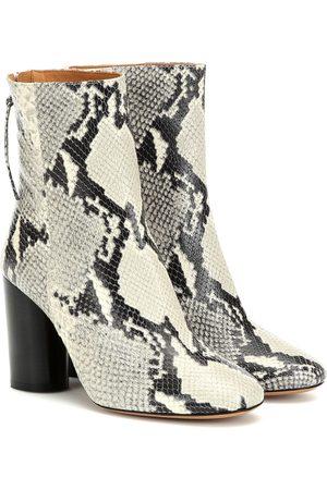Isabel Marant Garrett leather ankle boots