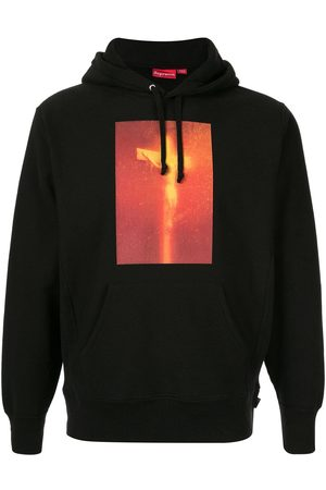 Supreme Men Sweatshirts - Piss Christ Hooded Sweatshirt