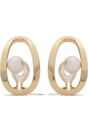 Tasaki 18kt Aurora Akoya pearl earrings