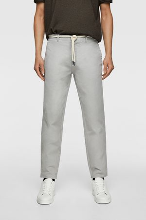 Zara Trousers with cord belt