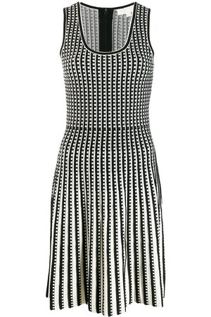 Michael Kors Checked knitted dress