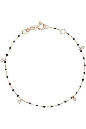GIGI CLOZEAU 18kt diamond beaded bracelet