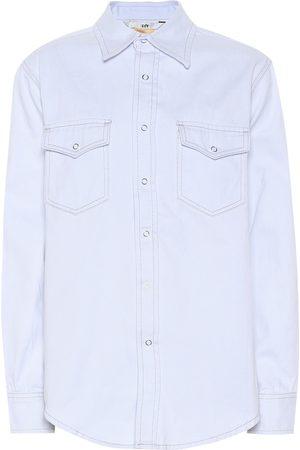 Eytys Falcon twill-cotton shirt