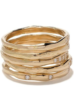 WOUTERS & HENDRIX 18kt Diamond set of rings