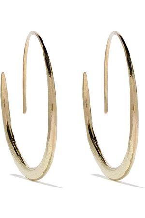 WOUTERS & HENDRIX 18kt gold hammered hoop earrings