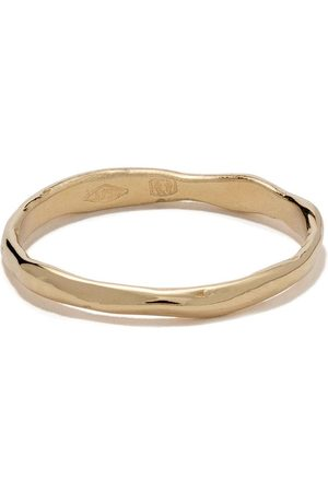 WOUTERS & HENDRIX 18kt gold organic band ring