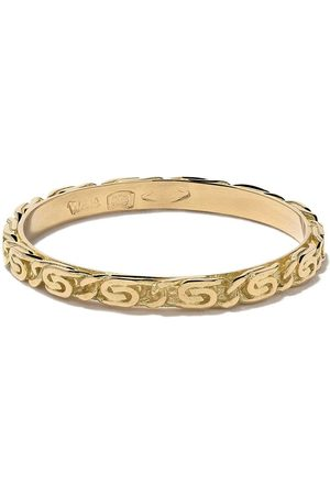 WOUTERS & HENDRIX 18kt Snail Diamond Chain ring