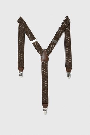 Zara Men Braces - Thin polka dot braces