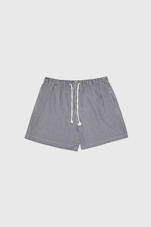 Zara Men Swimming Briefs - Seersucker swimming trunks