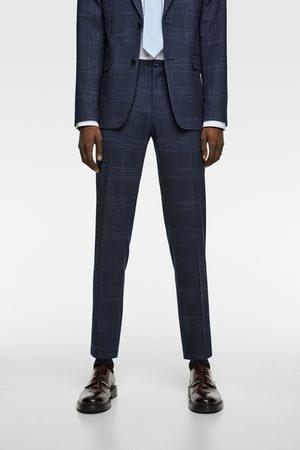 Zara Men Pants - Check suit trousers