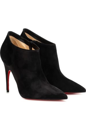 Christian Louboutin Women Ankle Boots - Gorgona 100 suede ankle boots