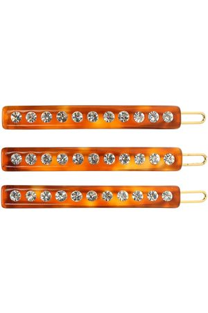 Lele Sadoughi Exclusive to Mytheresa – set of crystal-embellished barrettes